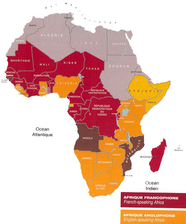 Carte Afrique Langue.Le Cinema En Afrique Festival Lumieres D Afrique